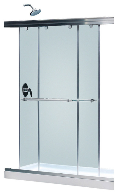 Charisma Frameless Bypass Sliding Shower Door 56 60 Quot W