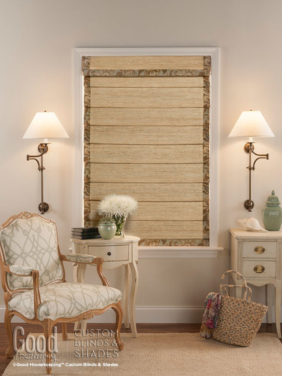 Good Housekeeping Woven Wood Shades - Good Housekeeping Woven Wood Shades Hobbled Liner