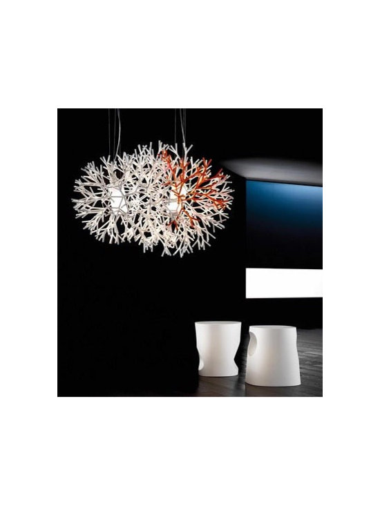 CORAL S PENDANT LAMP BY PALLUCCO LIGHTING - Coral suspension by Pallucco is part of the new Coral series.