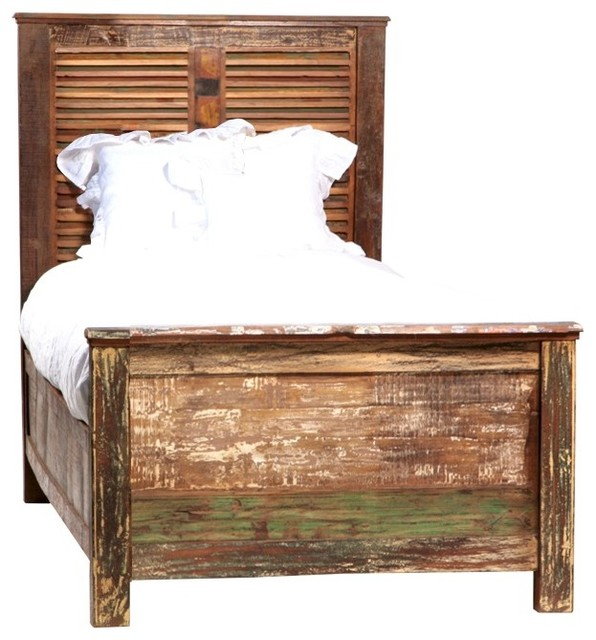 Vintage Shabby Chic Furniture eclectic-beds