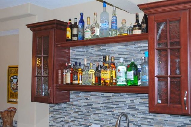 Pacifica Bar Cabinets kitchen-cabinetry
