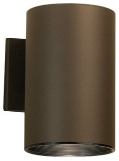 Kichler No Family Association Outdoor Wall Mount Light Fixture in Bronze - Contemporary ...