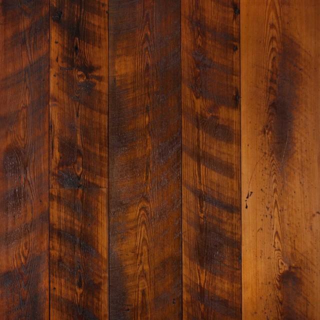 Longleaf Lumber Reclaimed Skip Planed Heart Pine Afro Decor