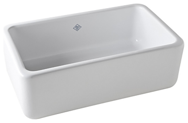 Rohl Shaws Sinks RC3018 Original Fireclay Apron Sink, White farmhouse ...