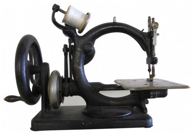 Vintage Sewing Machine - Eclectic - Home Decor - new york - by Second ...