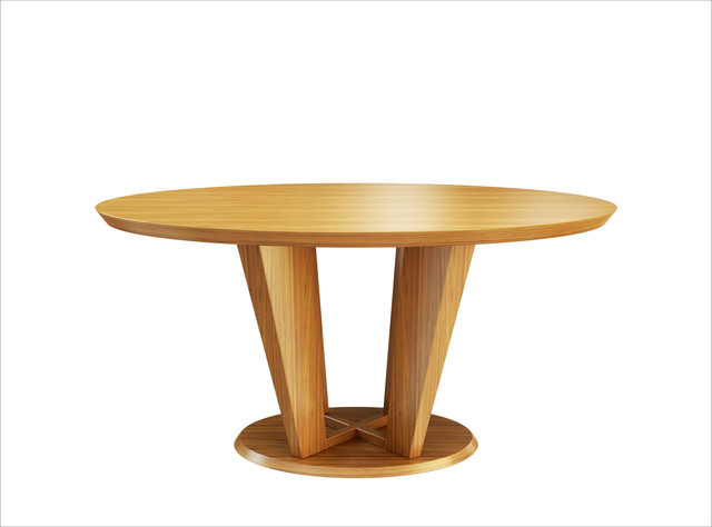 Modern Oval Table Rendering Modern Dining Tables Los Angeles
