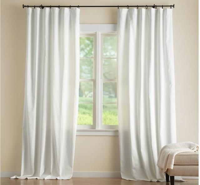 White Linen Curtain Panels White Sheer Curtain Panels
