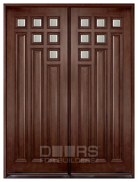 Modern Collection (Custom Solid Wood Doors) contemporary-front-doors