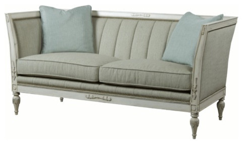Belle Meade Barclay Settee Traditional Sofas by