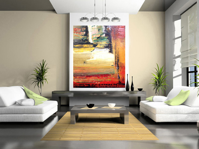 Home decor art ideals contemporary paintings for Paintings for house decoration