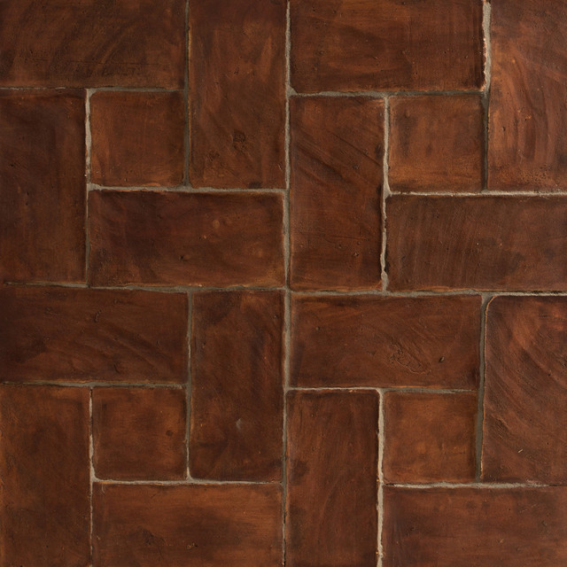 Spanish Handmade Terracotta Tiles Mediterranean Wall And Floor Tile Los Angeles By