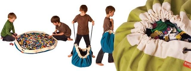 SWOOP BAGS modern-toy-organizers