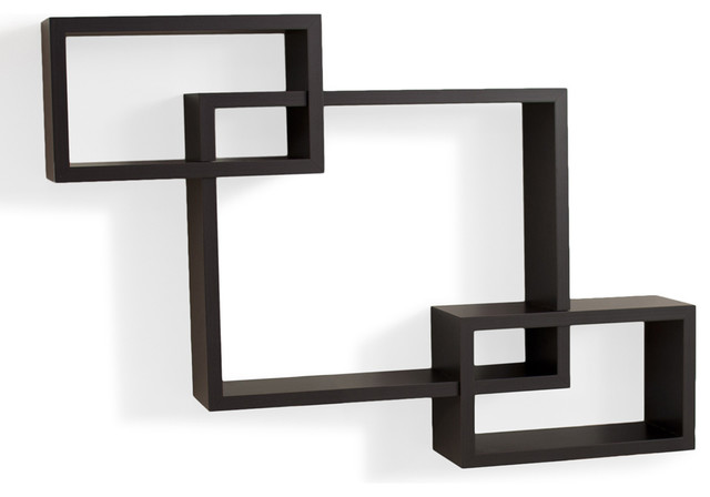 Intersecting Wall Shelf contemporary-display-and-wall-shelves