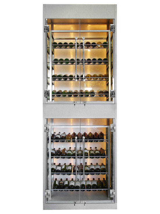 Modern or Contemporary Wine Cellars and Wine Cabinets by Vinotemp -