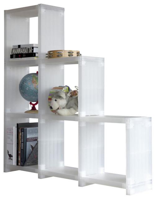 Cubitec Base Shelving Solution, Translucent White ...
