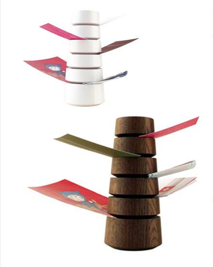 Babel desk organizer modern desk accessories by nova68 - Modern desk accessories and organizers ...