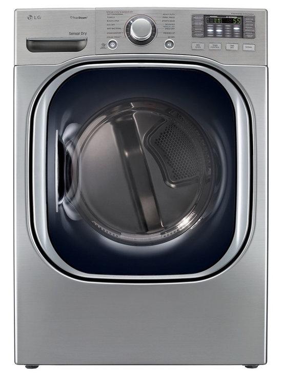 LG  7-2/5-cubic-foot Steam Gas Dryer, Graphite -