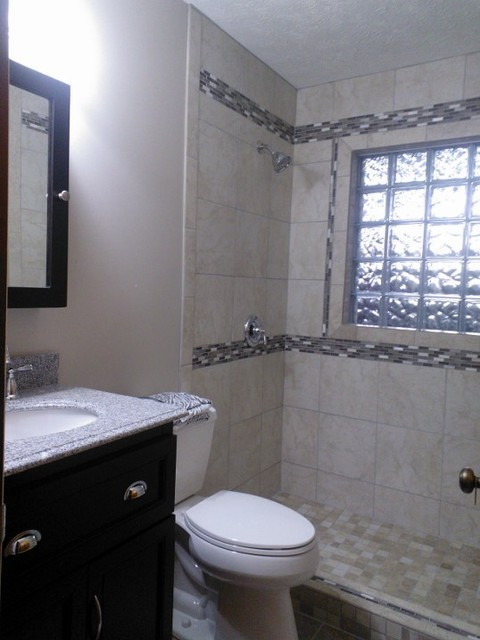 Simple Bathroom Remodel Transitional Other Metro By