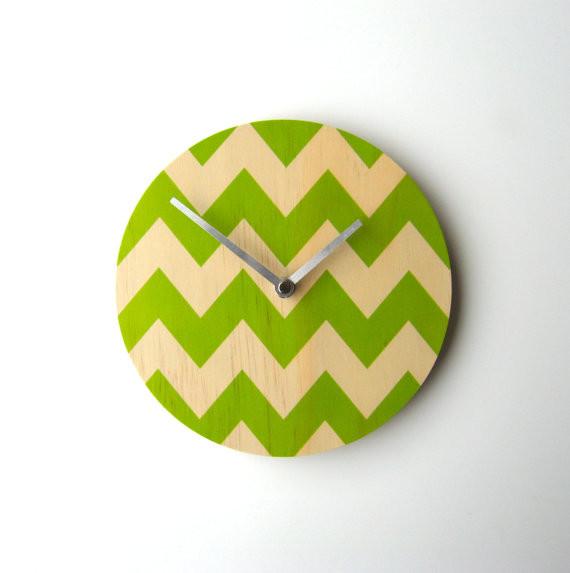 Chevron Wall Clock by Objectify contemporary-clocks