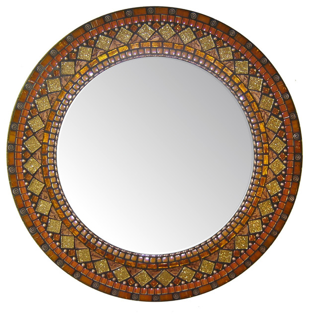 Heirloom Collection Mosaic Mirrors traditional-wall-mirrors