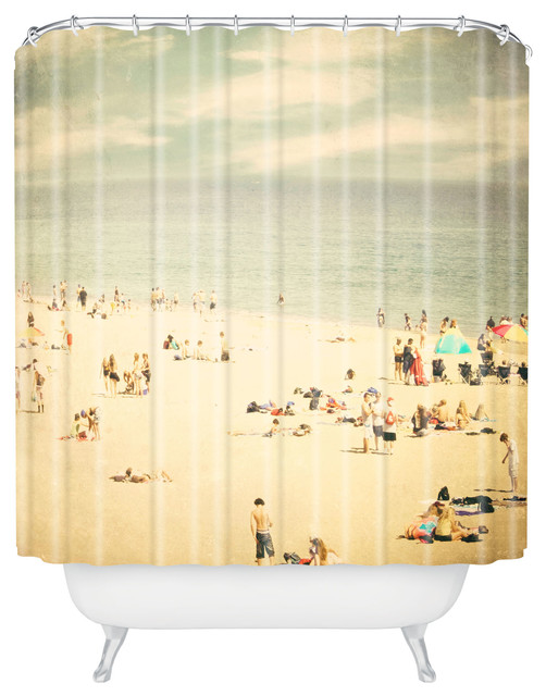 beach shower curtain beach style shower curtains by deny designs