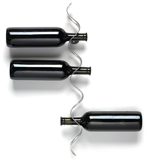 Flow Wine Rack Black + Blum modern wine racks