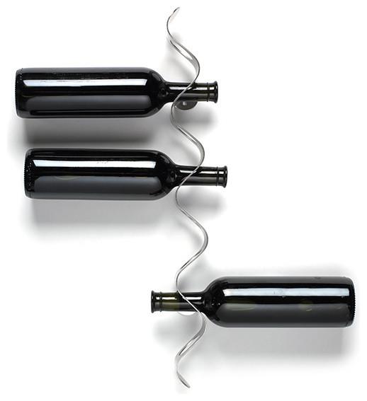 Flow Wine Rack Black + Blum modern-wine-racks