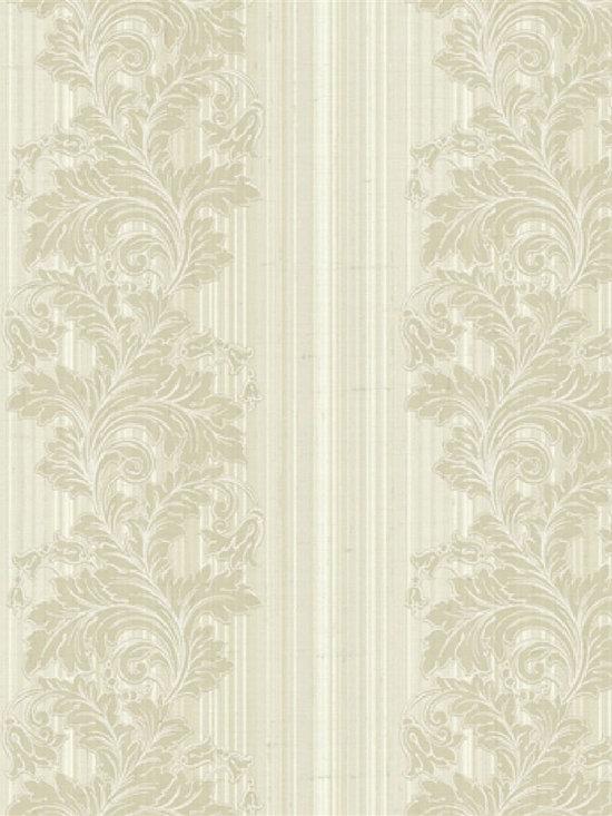 Bainbridge Damask Stripe - Bainbridge Wallpaper Collection from AmericanBlinds.com