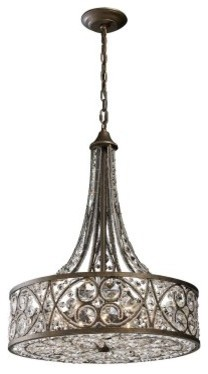 ELK Lighting Amherst 6-Light Pendant 11288/6 - 20W in. modern-ceiling-lighting