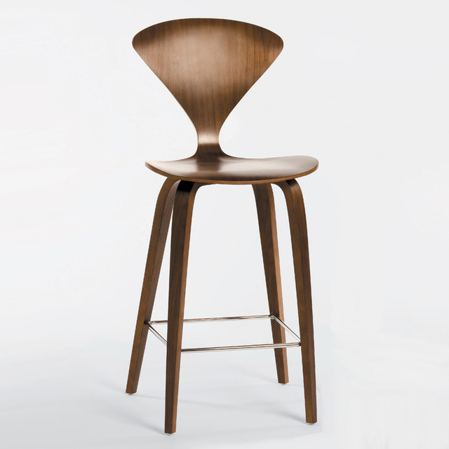 Cherner Chair Wood Base Stool - Counter - Modern - Bar ...