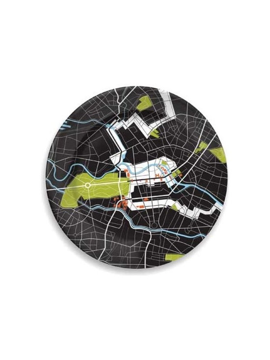 notNeutral City On A Plate - The culmination of the notNeutral City Plate collection celebrates visionary thinking and takes a look and examines the past, present, and future of innovative architecture and design.