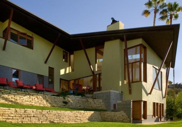 Malibu Architectural contemporary-exterior