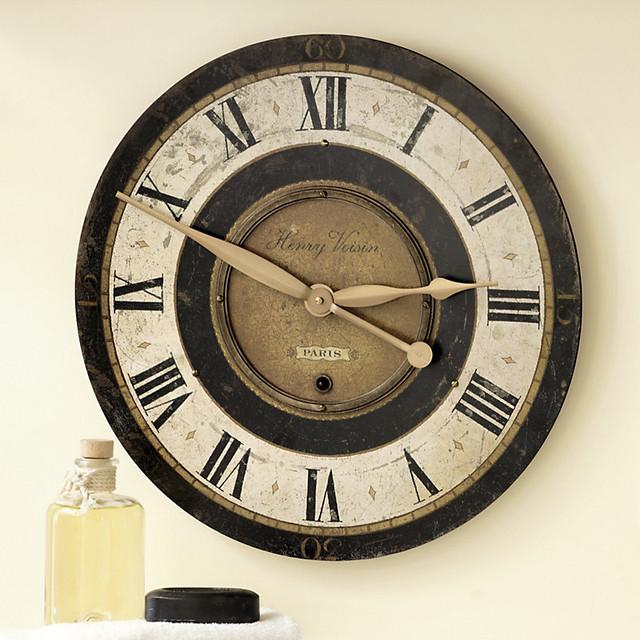 Wall Clock Ballard Design : Henry voison clock traditional clocks by ballard designs