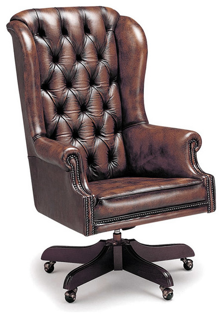 Chesterfield Office Swivels traditional-task-chairs