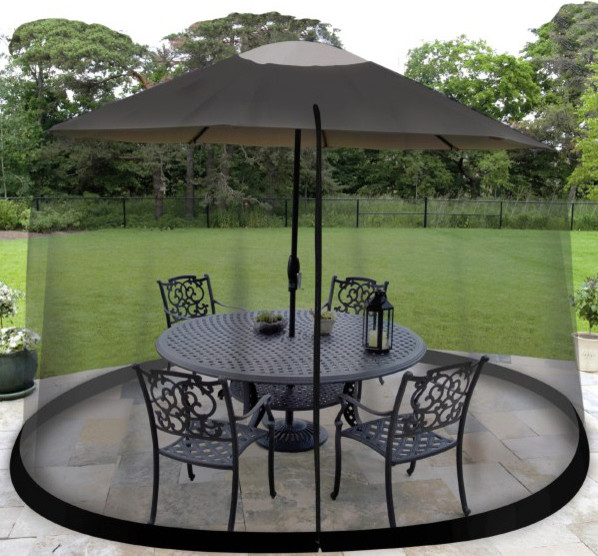 7 1 2 Umbrella Table Screen Contemporary Outdoor Products by Bed B