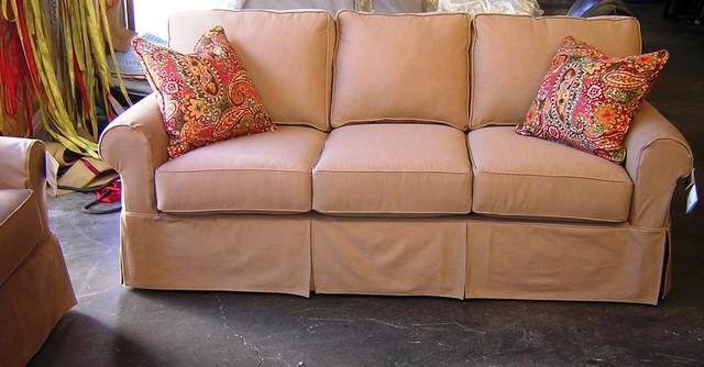 Rowe Nantucket Slipcover Sofa, Loveseat, Chair and Ottoman sofas