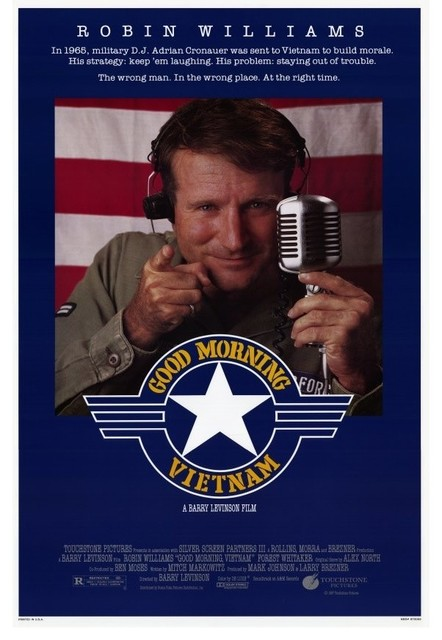 Good Morning Vietnam 27 x 40 Movie Poster - Style A prints-and-posters