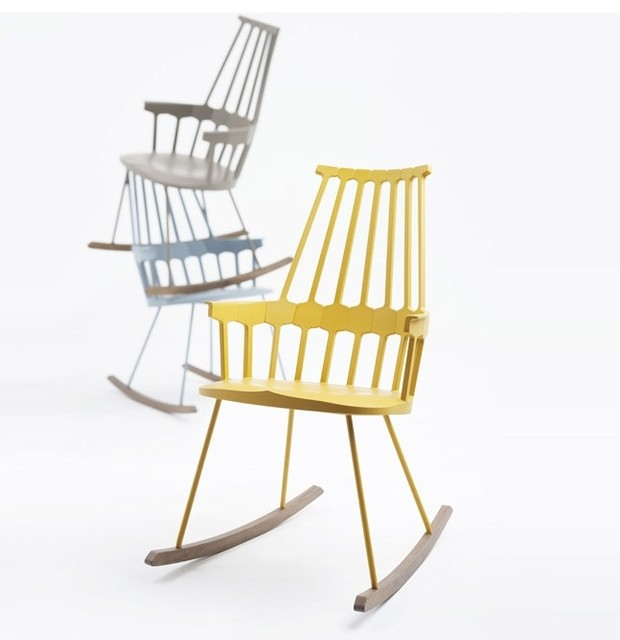 Comback Rocking Chair by Kartell - Modern - Rocking Chairs - other metro - by Surrounding ...