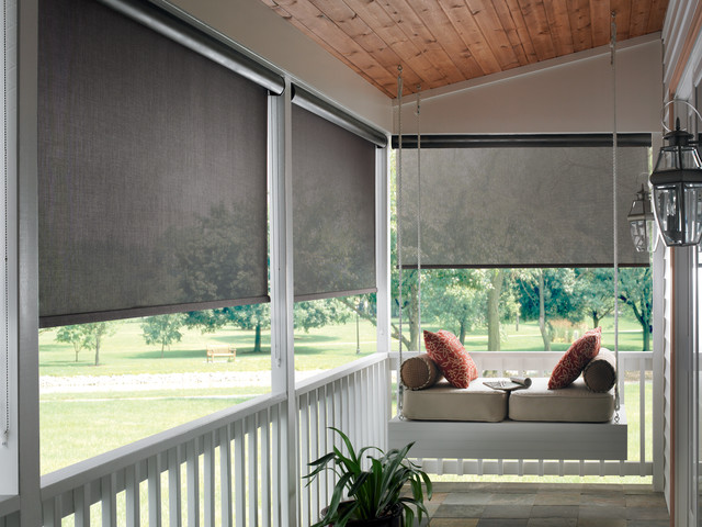 Exterior roller shades modern roller shades phoenix for Exterior window shade