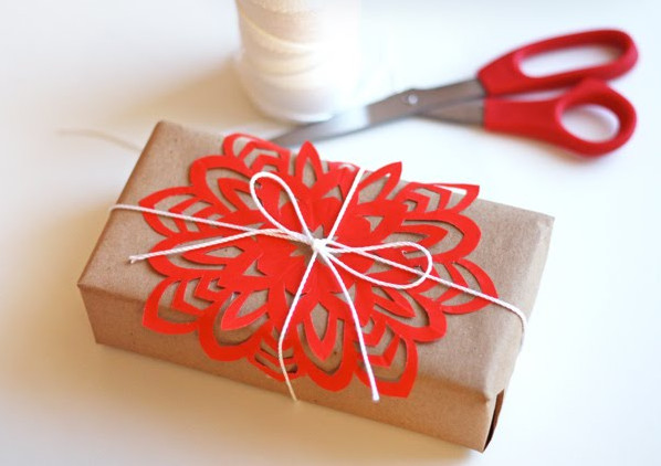 How About Orange Snowflake Tutorial modern