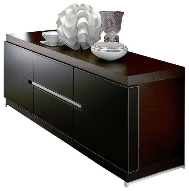 city buffet modern buffets and sideboards by inmod. Black Bedroom Furniture Sets. Home Design Ideas