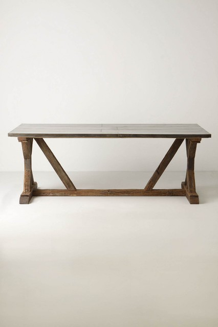 Modern Farmhouse Table Eclectic Dining Tables other metro by Rebekah