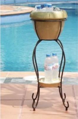 Alfresco Home Duetto Beverage Cooler - Antique Cream modern-wine-and-bar-tools