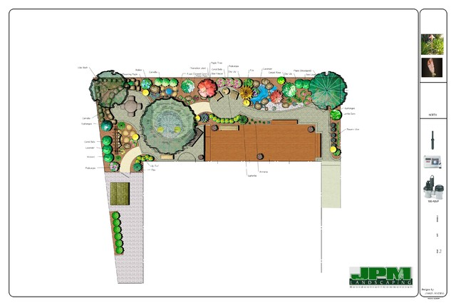Landscape Design traditional-site-and-landscape-plan