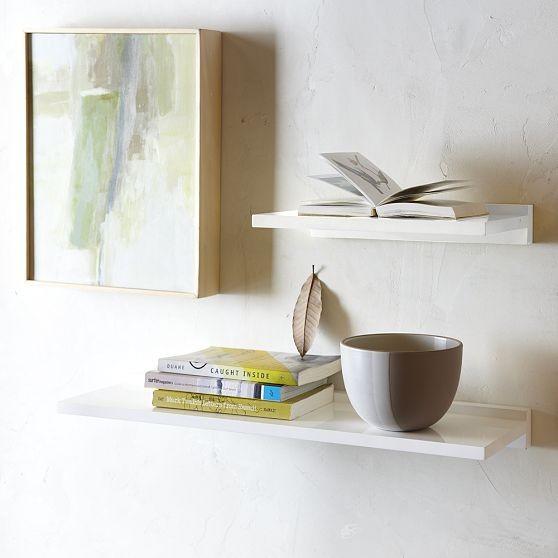 Lacquer Shelves Modern Wall Shelves