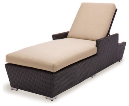 Maxime Single Chaise with Cushion modern-outdoor-products