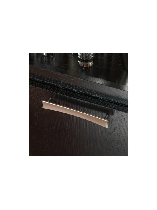 Sail Pull - This decorative pull adds a modern touch. Also available in a knob.