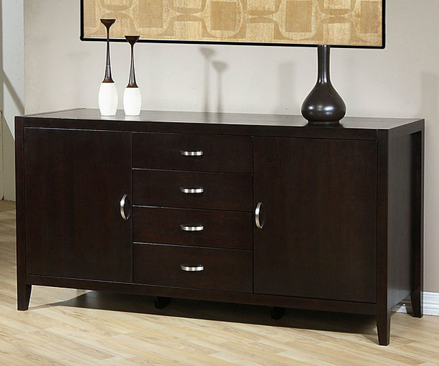 Axium Buffet - Contemporary - Buffets And Sideboards - by Overstock.com