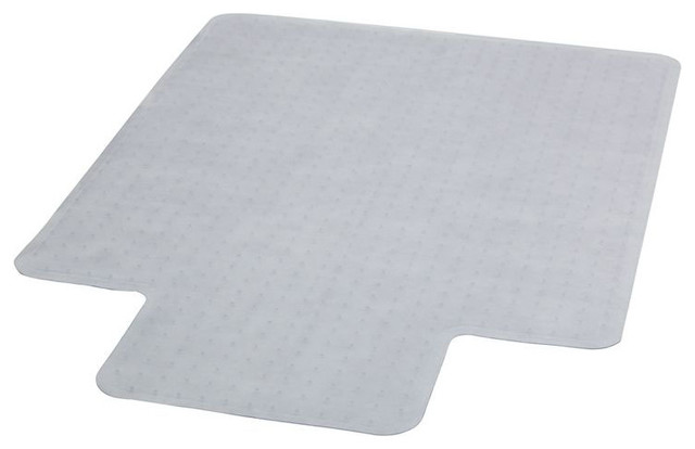 "45"" x 53"" Carpet Chairmat with Lip contemporary-desk-accessories"