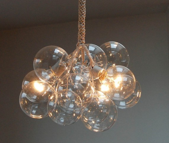 Bubble Chandelier Original Size by Jean Pelle contemporary-chandeliers